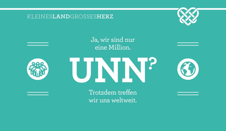 Ja wir sind nur eine Million - UNN? - Trotzdem treffen wir uns weltweit